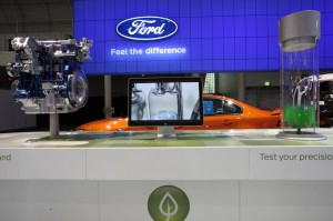 Ford EcoBoost display at the 2011 AIMS