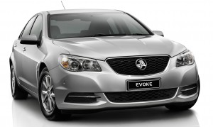 Holden-VF-Commodore-Evoke-front-side