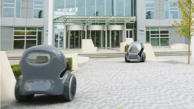The proposed designs for the new driverless cars in the UK