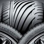 Asymmetrical tyre