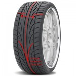 Directional tyre