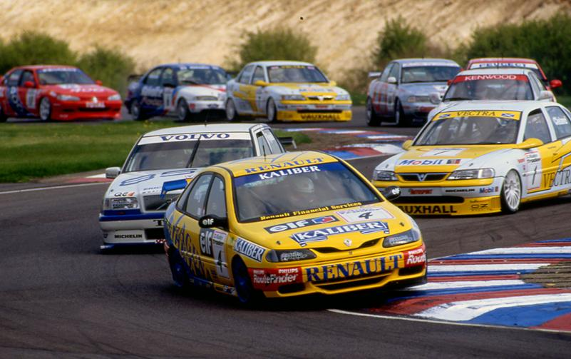 The BTCC in the mid 90s was the pinnacle of motorsport