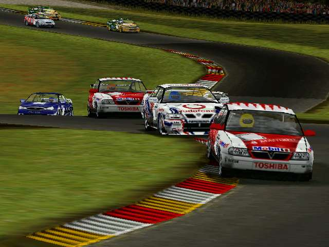 TOCA 2 Touring Cars in all its glory