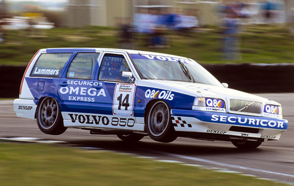 You are not going blind, that is a Volvo Estate that entered the BTCC in 1994. Don't get that in F1 now do you?
