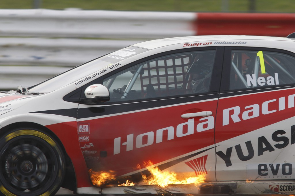 The competition in the BTCC is really hotting up... Photo Credit: BTCC.net