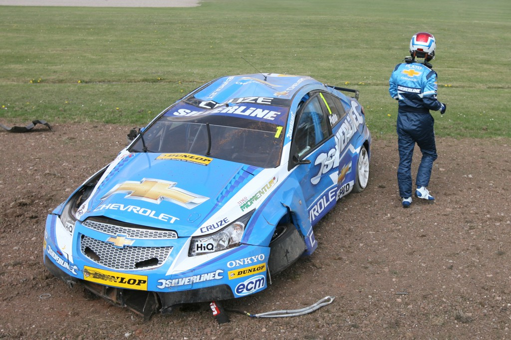 Well that did not go well... Photo Credit: BTCC.net