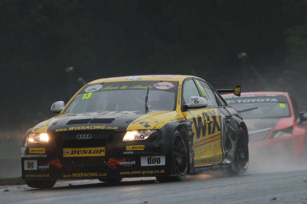 The fan favourite. The BTCC world is hoping for good things from Austin and Sherman this year. Photo Credit: BTCC.net