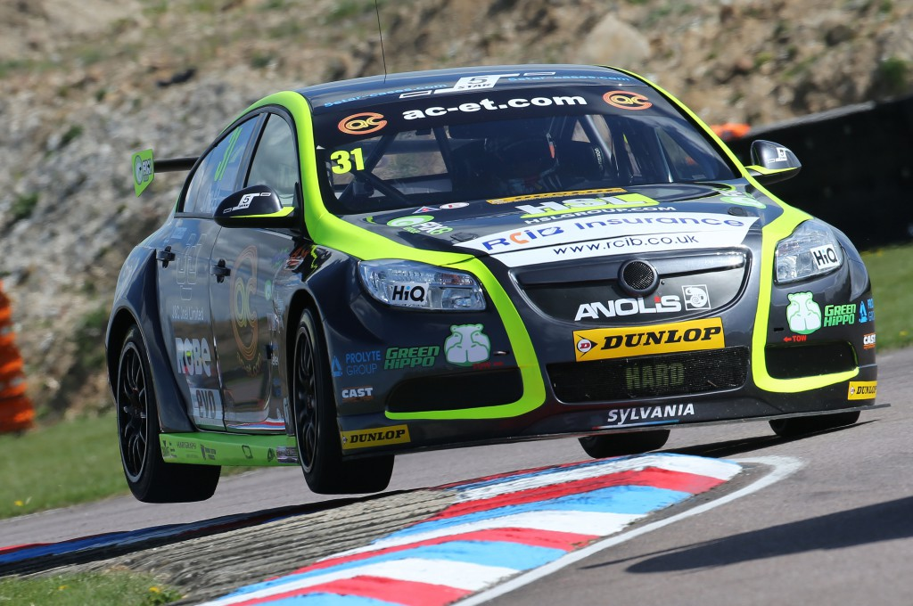 Out of the frying pan.... Jack Goff has the talent for greatness. Photo Credit: BTCC.net