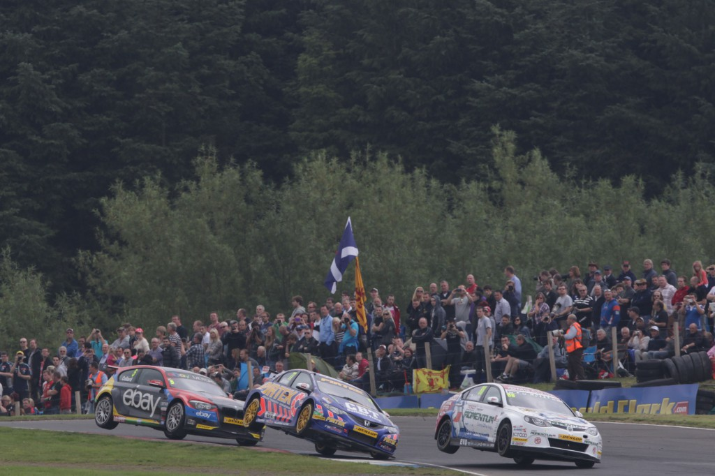 The 2013 season gave close, hard racing, and some spectacular shots. Photo Credit: BTCC.net