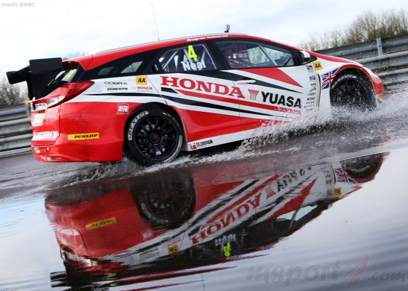 The Honda Civic Tourer for BTCC 2014