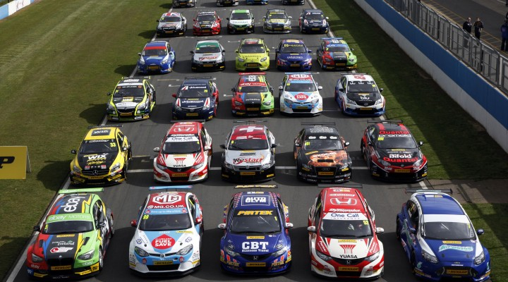BTCC has confirmed a 31 car grid for 2014. Image Credit: BTCC.net