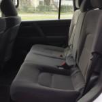 Landcruiser rear seats