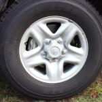 Landcruiser wheel