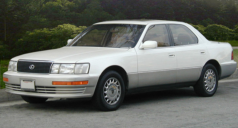 The LS400 was the original Lexus, released in 1989