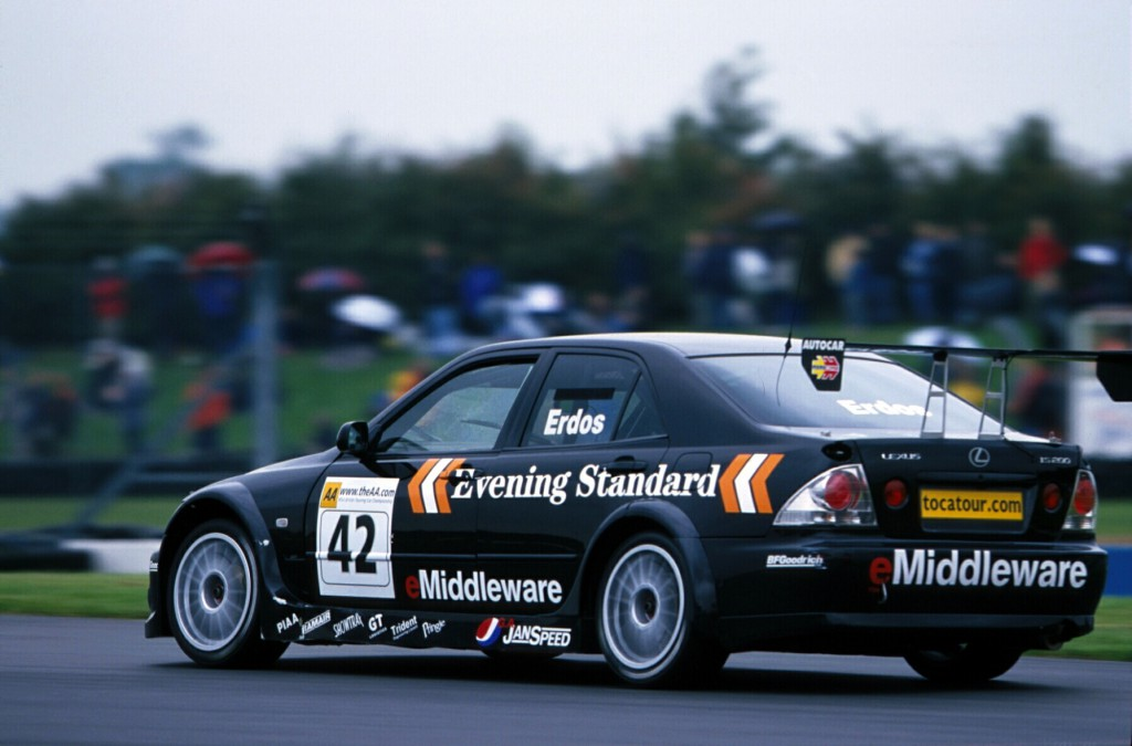 The 2001 BTCC season saw the Lexus IS200 make its touring car debut