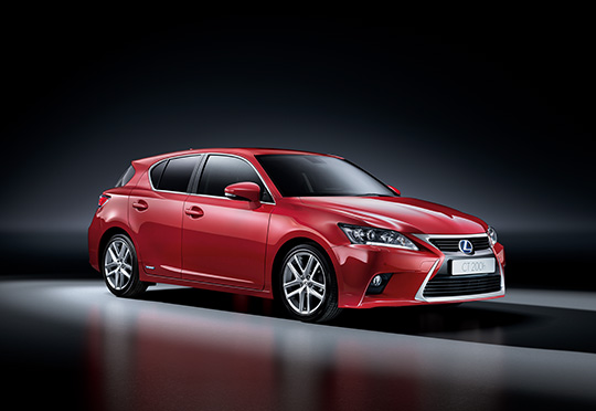 The Lexus CT 200h