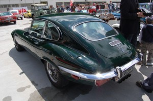Jaguar E-Type Series 3 1971-1974 rear
