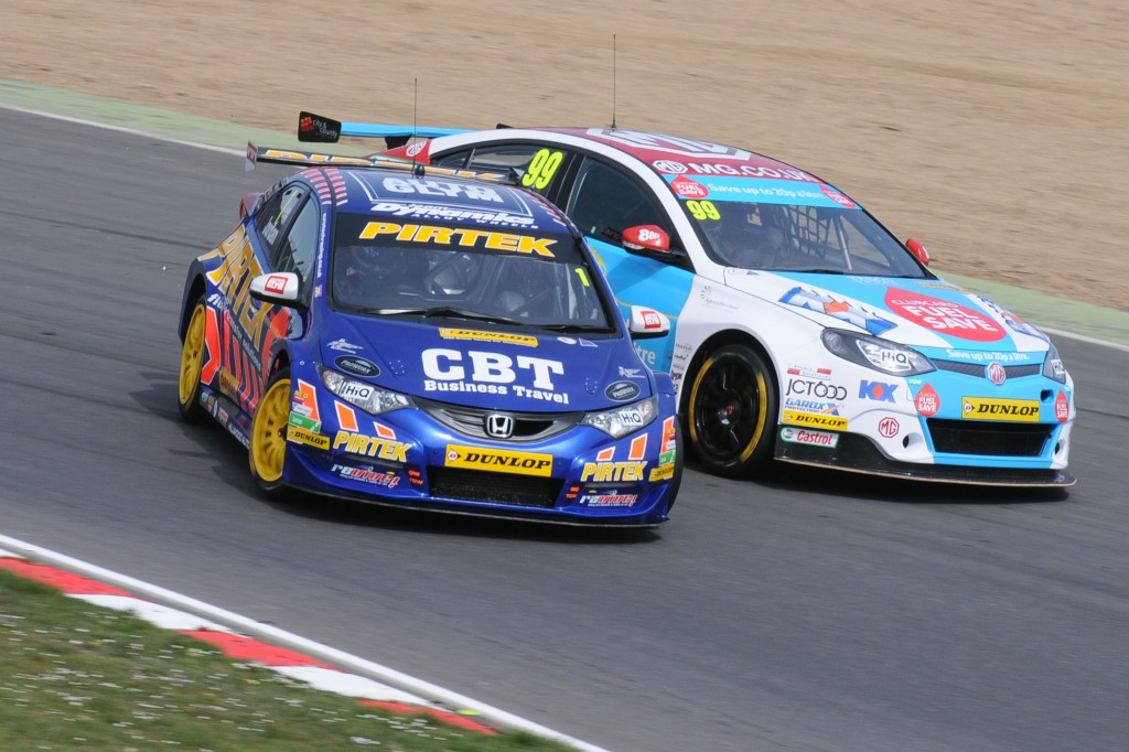Jordan and Plato have assumed their usual positions at the top. Is a new rivalry forming? Image Credit: BTCC.net
