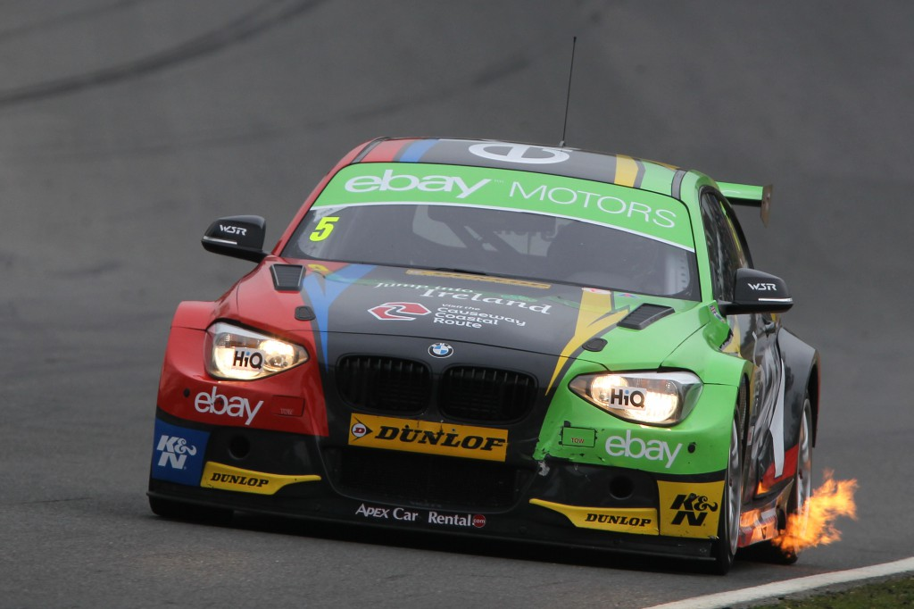 The BTCC grid were all fired up and ready to go. Image Credit: BTCC.net