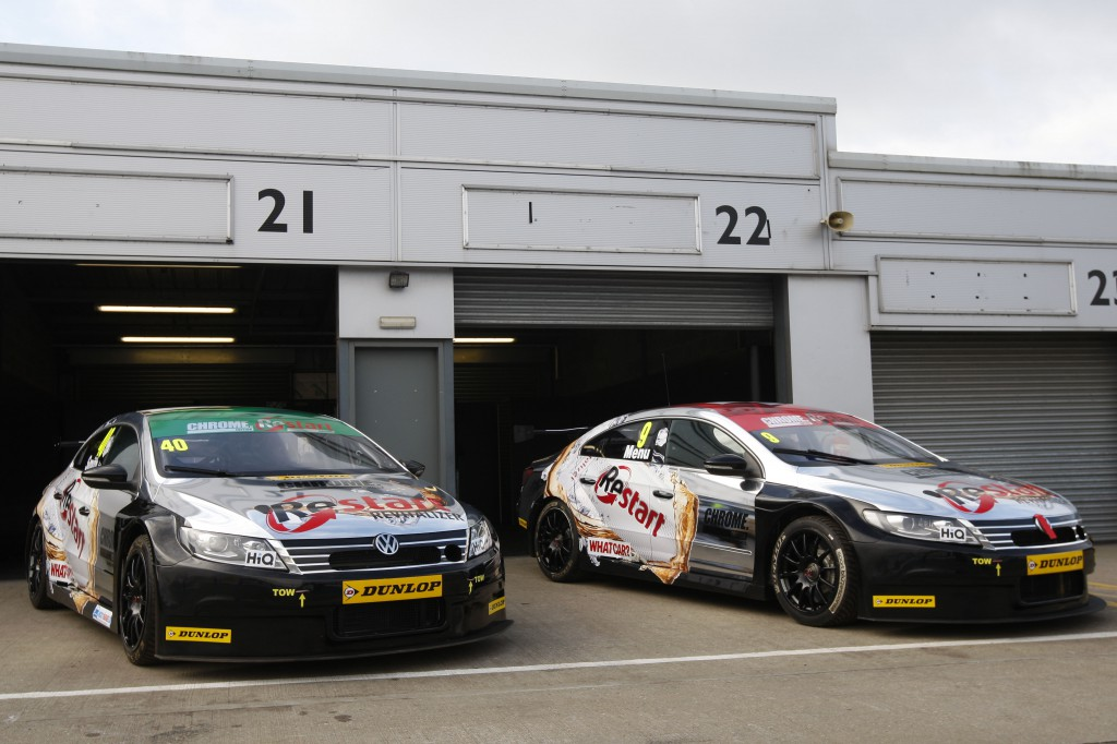 Team BMR will soon reign after their great show. Image Credit: BTCC.net