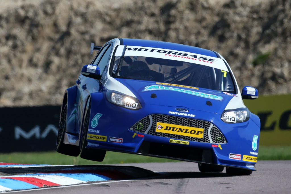 The Ford team impressed across the weekend, thanks to a turbo adjustment. Image Credit: BTCC.net