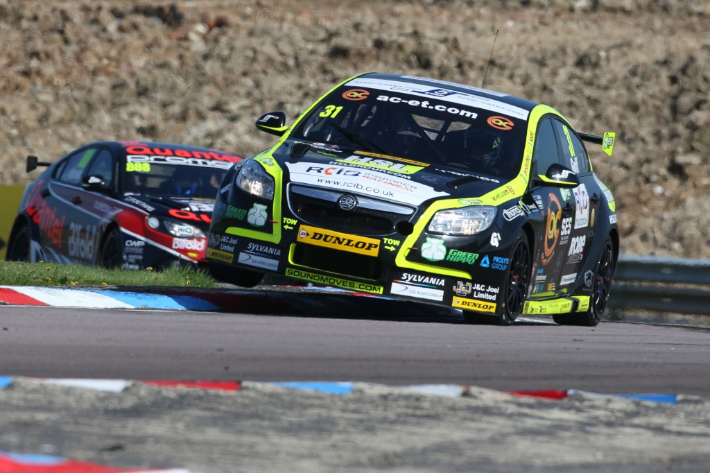 Jack Goff proved the Vauxhall Insignia is a worthy touring car in race three. Image Credit: BTCC.net