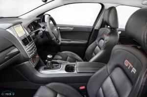 GT-F interior