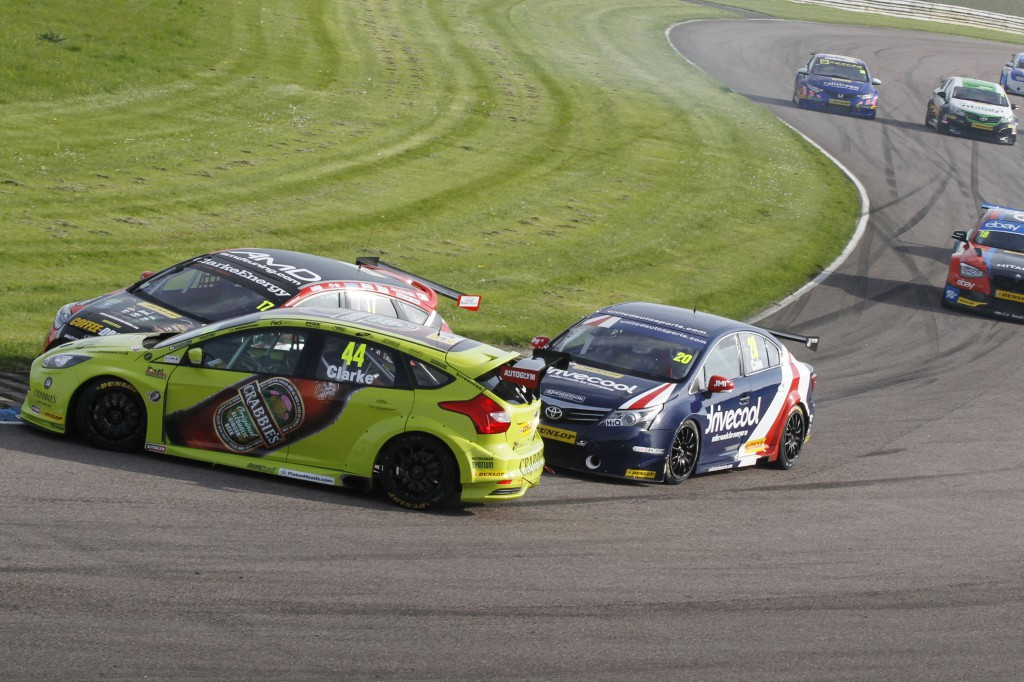 The BTCC has always been action packed, but now it is more like banger racing. Image Credit: BTCC.net