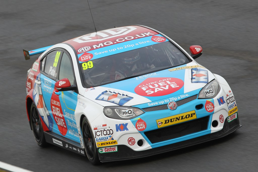 According to the TV coverage, the BTCC is mostly this man... Image Credit: BTCC.net