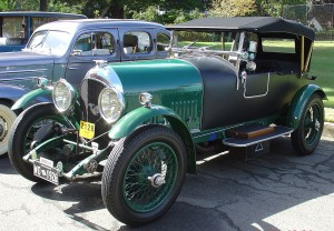 1926 Bentley: a vintage car