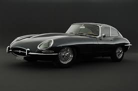 1961 E-type Jaguar: definitely a classic