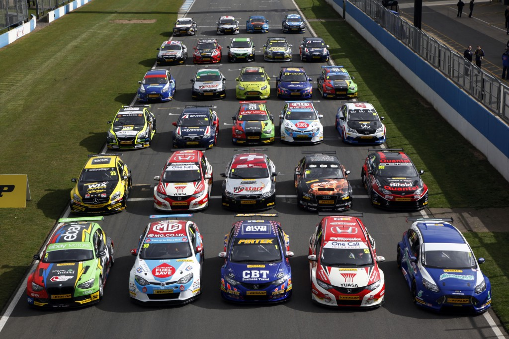 The entrants in the BTCC may be flourishing, but only two manufacturers entered the 2014 season. Image Credit: BTCC.net