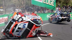 Lowndes Luff crash