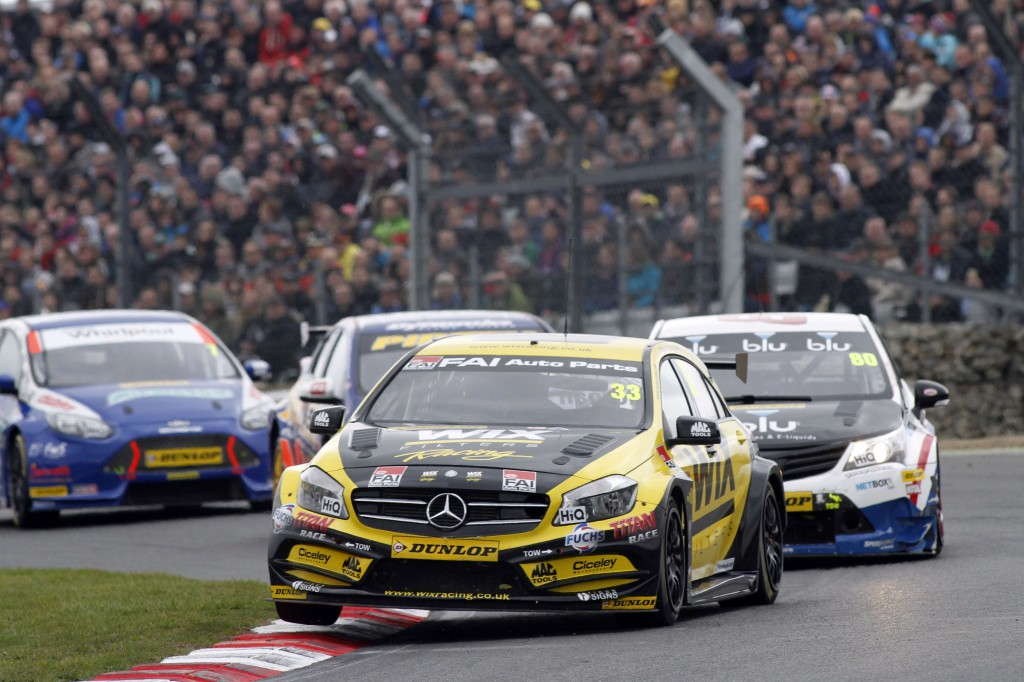 With a race win under their belt and a large fan base, could Mercedes not provide some manufacturer backing? Image Credit: BTCC.net