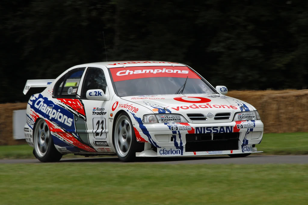 The Vodafone Nissan Primera has become an icon of 90s BTCC. Image Credit: Piston Heads