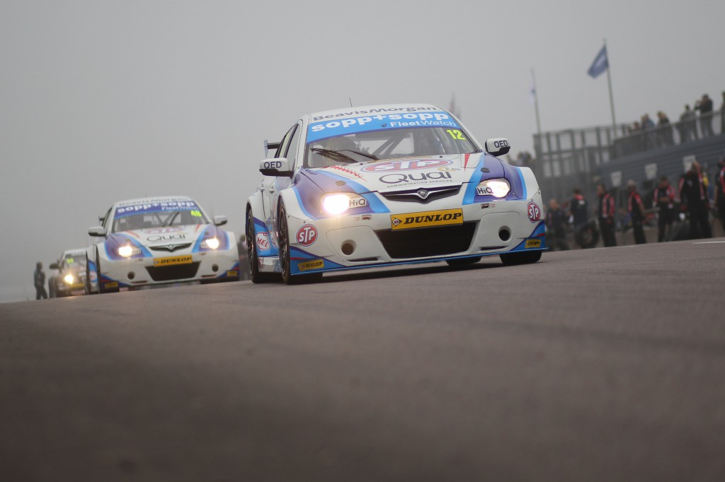 Changes in current regulations would give some of the lower teams such as the Protons of Dan Welch a shot at high positions. Image Credit: BTCC.net