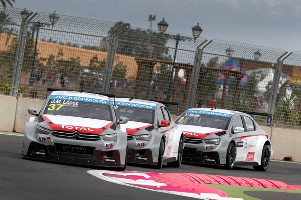 This is the general view of 2014: World Touring Citroen Championship. Image Credit: AutosportVision.com