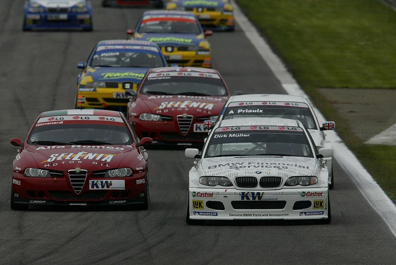 WTCC in the early 2000s was dominated by names such as Alfa, BMW, SEAT and Chevrolet