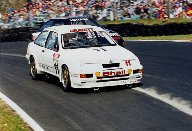 The 1990 champion Gravett nearly pulled out due to lack of sponsors. Image Credit. forums.autosport.com