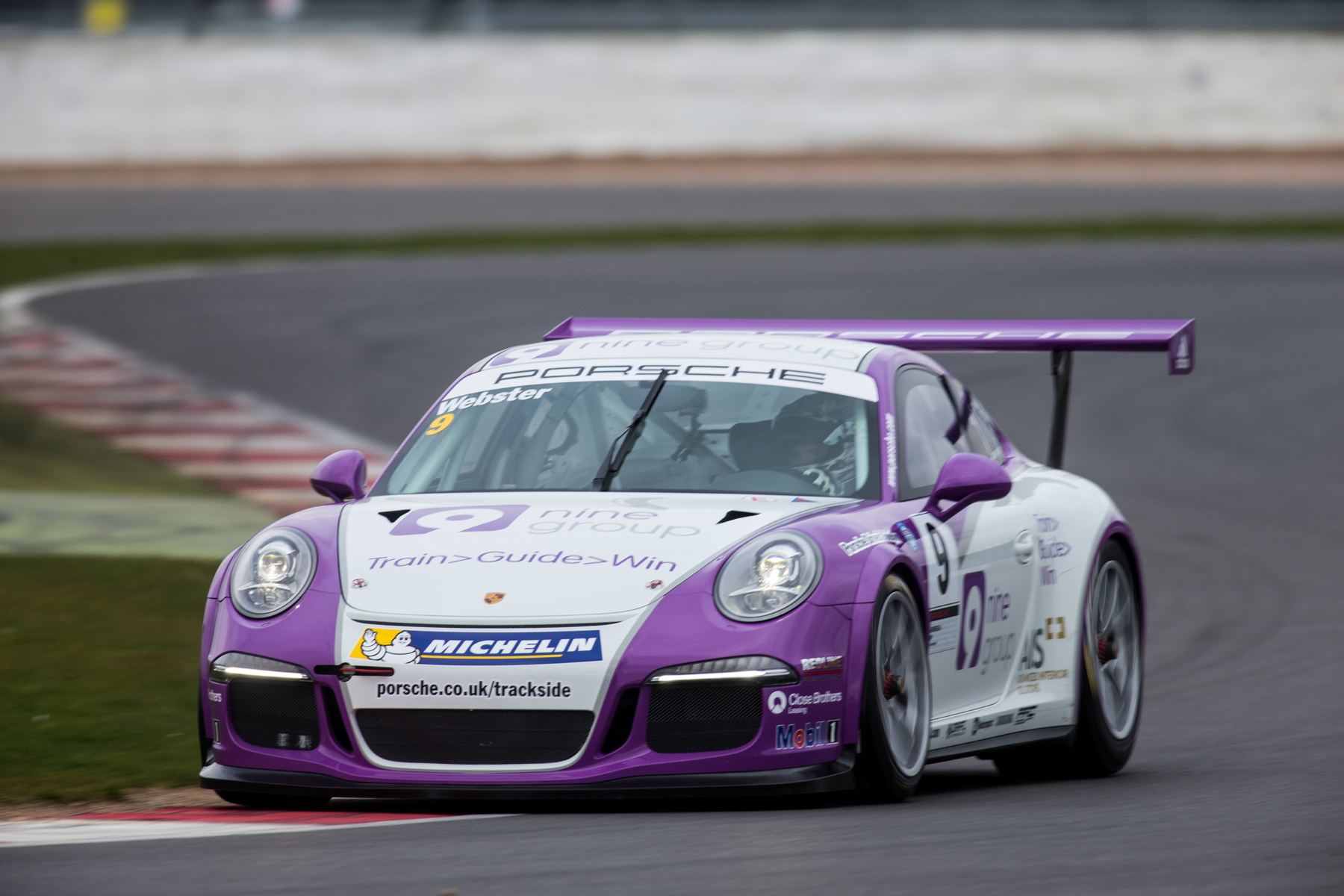 Josh Webster came out the 2014 season on top. Image Credit: total911.com