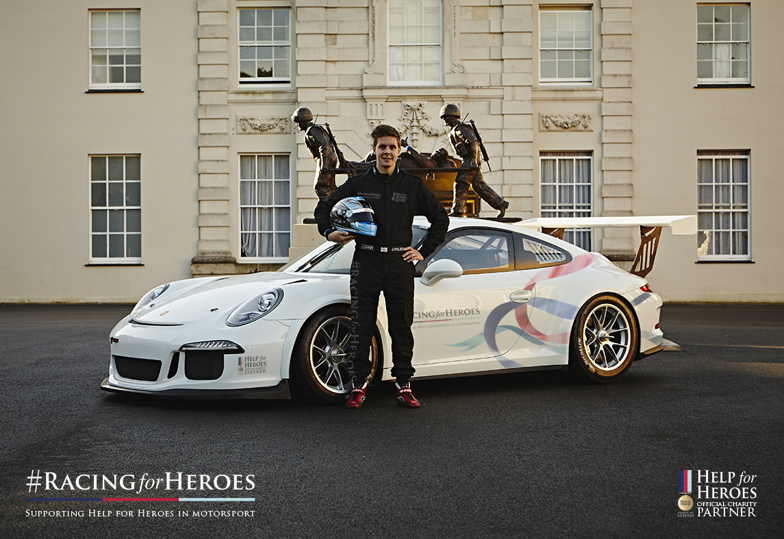 Josh Files will be heading the #RacingforHeroes entry for 2015. Image Credit: #RacingforHeroes