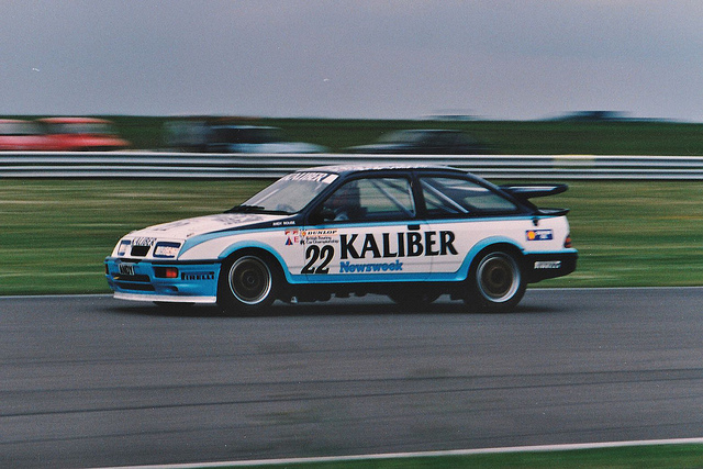 The Kaliber Sierra of Andy Rouse became synonymous with late 80s BTCC. Image Credit: Gary Walton (Flickr)