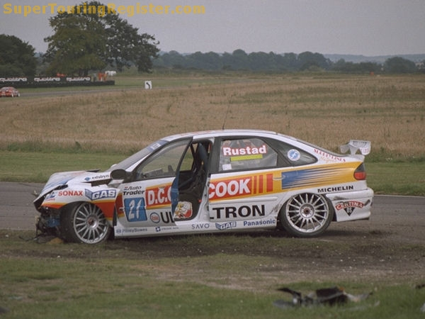 In 1998, this is usually how Rustad's car would look. Image Credit: SuperTouringRegister.com