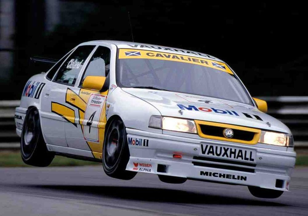 Cleland was flying high in 1995, taking the title. Image Credit: Pistonheads.com