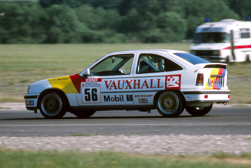 Where it all began. Cleland in his Astra GTE in 1989. Image Credit: TouringCarTimes.com