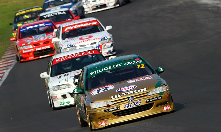 Finally, 2014 saw the Peugeot 406 dominating the ex-BTCC field. Image Credit: motorsportvision.co.uk
