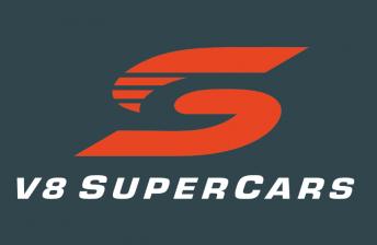 V8 Supercars Logo Commodore