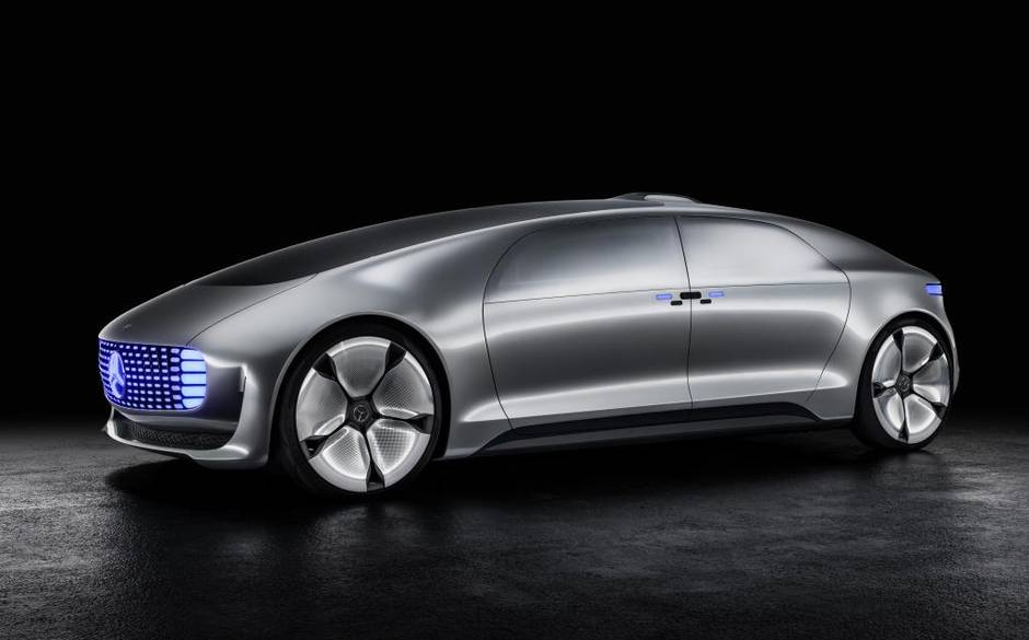 Driving us into the darkness. The Mercedes F015 concept.