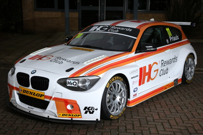 The new look WSR BMW 125i M Sport for Andy Priaulx. Image Credit: BTCC.net