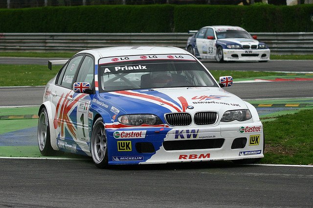 In the BMW UK car, Priaulx stormed to 4 straight championships in a row (ETCC/WTCC). Image Credit: Phil Volkaerts